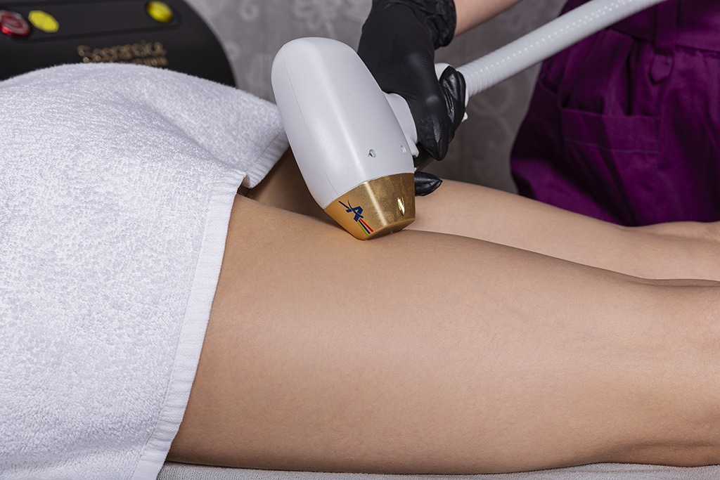 Dynamic Laser Hair Removal Thigh