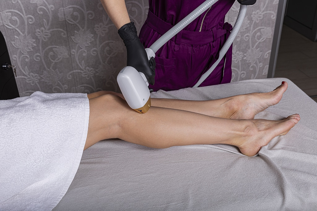 Dynamic Laser Hair Removal Shin